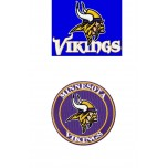 Minnesota Vikings logo machine embroidery design for instant download